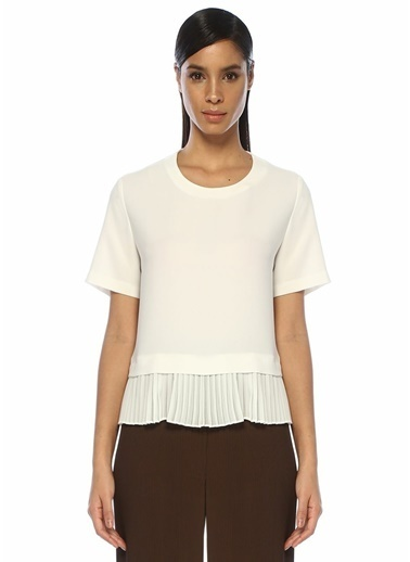 Beymen Club Bluz Beyaz